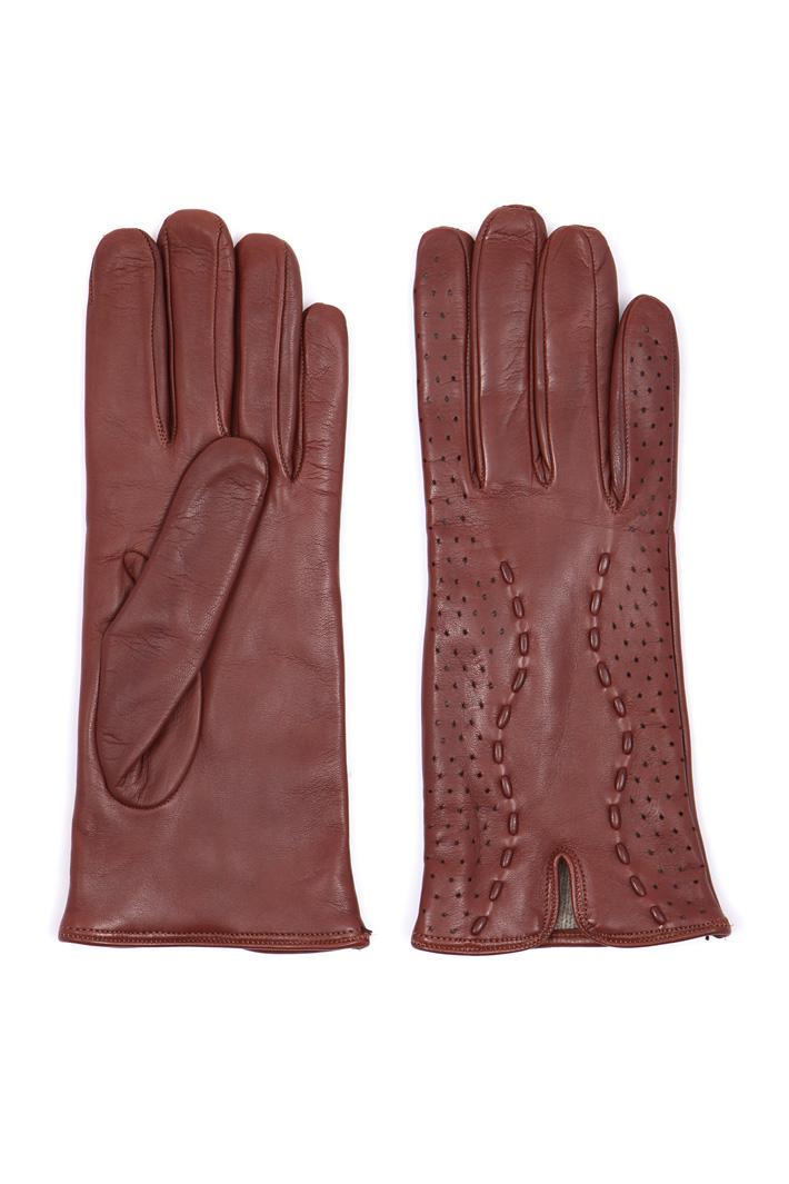 Speckled effect gloves  Intrend