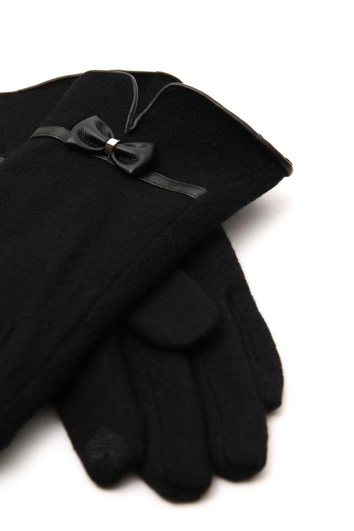 Wool jersey gloves Intrend