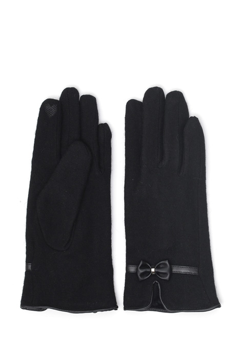 Wool jersey gloves Intrend