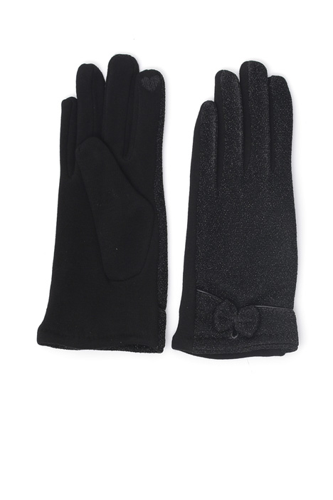 Lurex jersey gloves Intrend