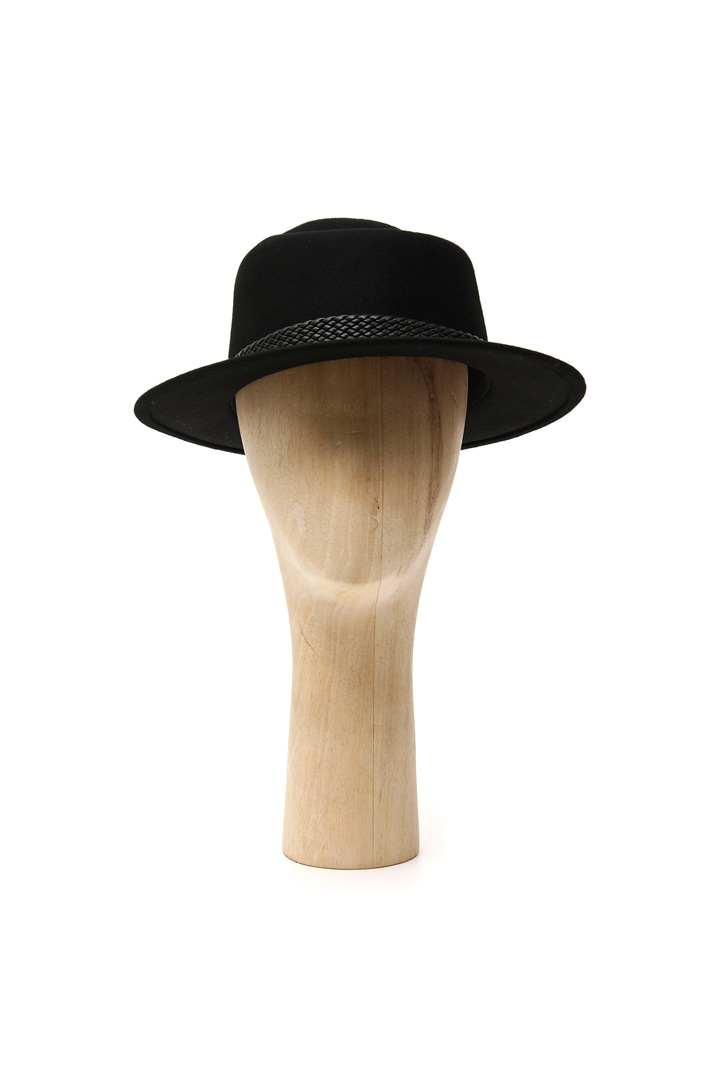 Fedora with braided rope  Intrend