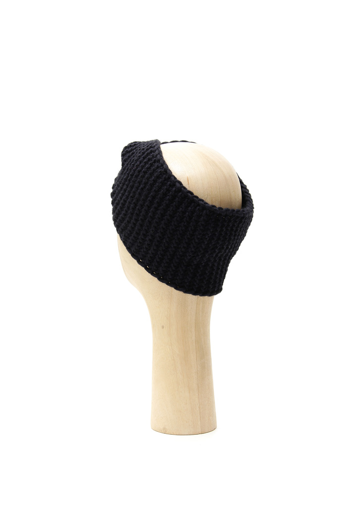 Knit hat with knot Intrend