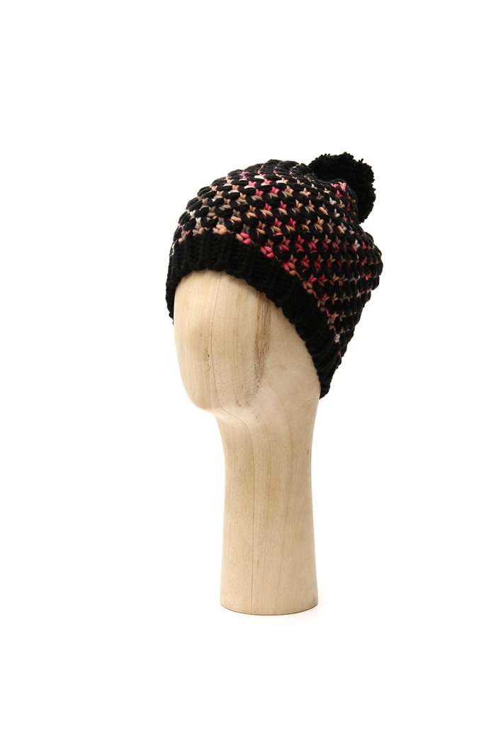 Multicoloured beanie hat Intrend