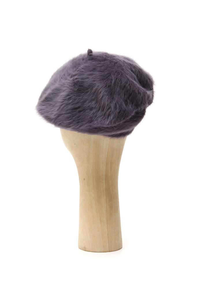 Angora blend flat hat Intrend