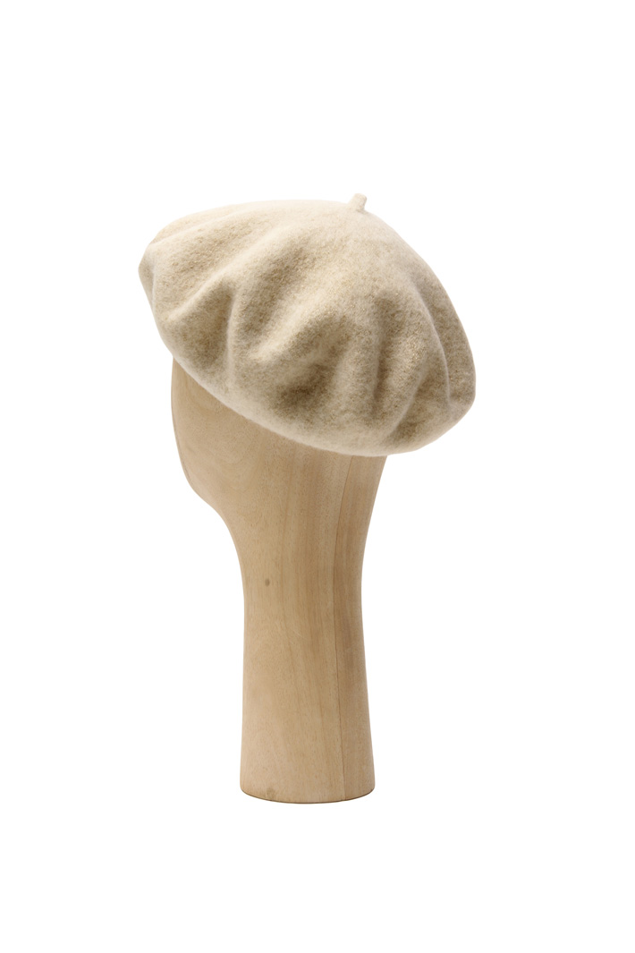 Lurex wool flat hat Intrend