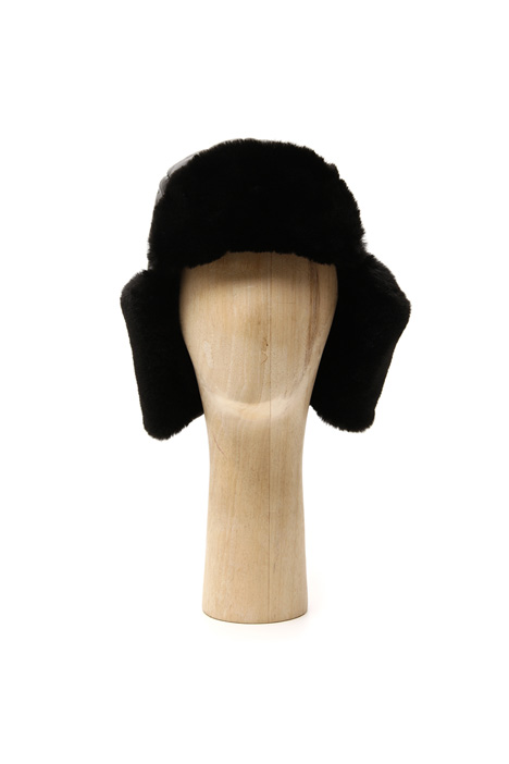 Fur-effect Ushanka hat Intrend
