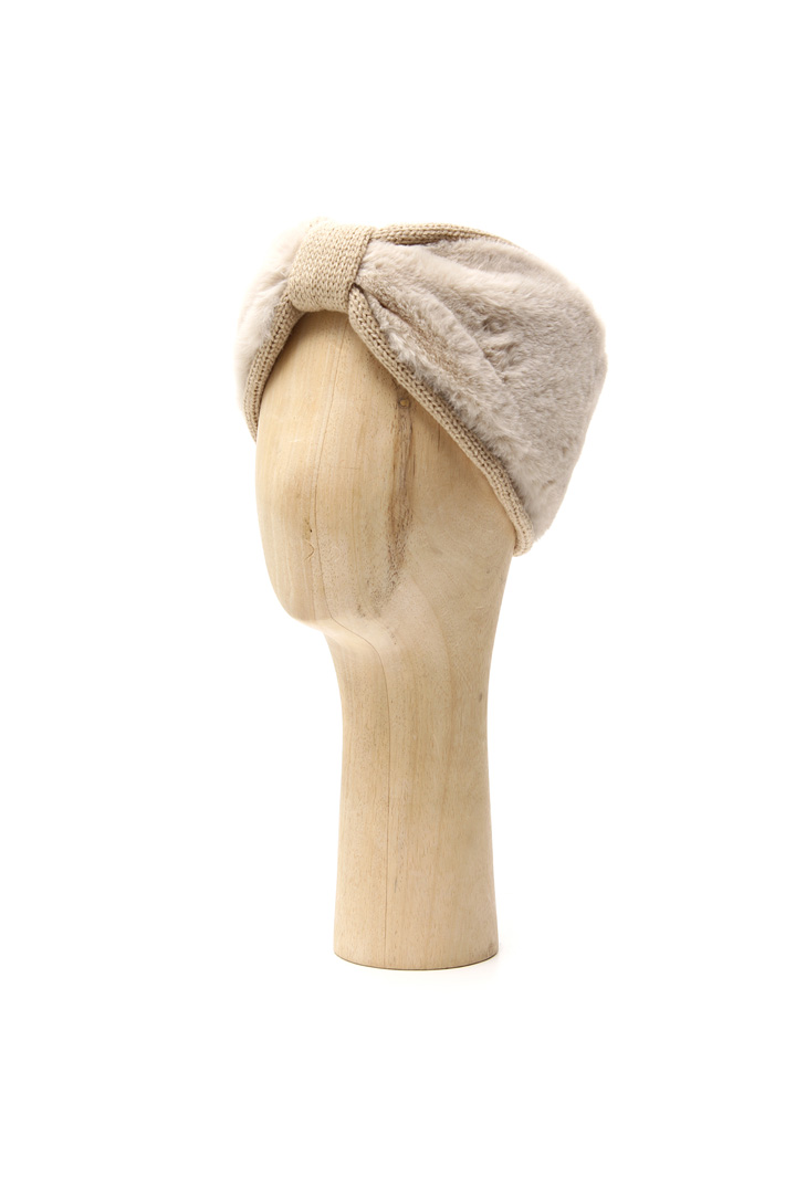 Fur-effect headband Intrend