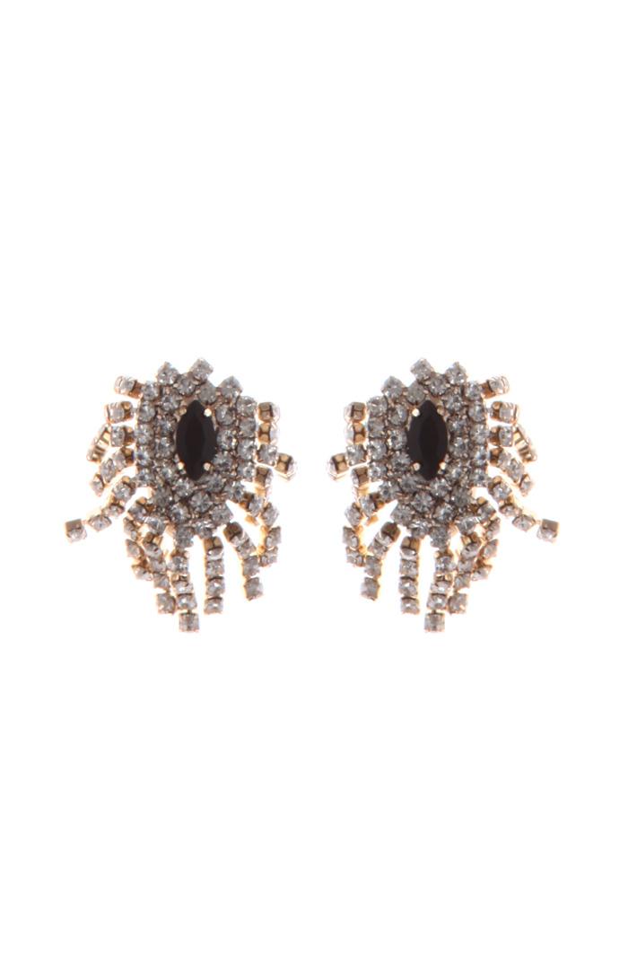 Glass earrings Intrend