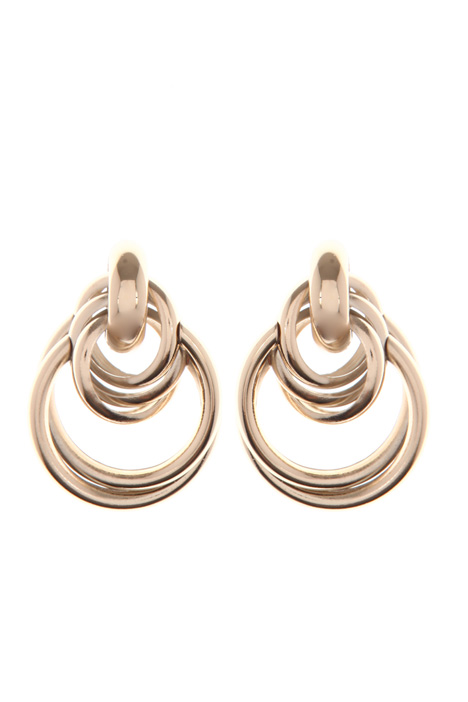 Intertwined earrings Intrend