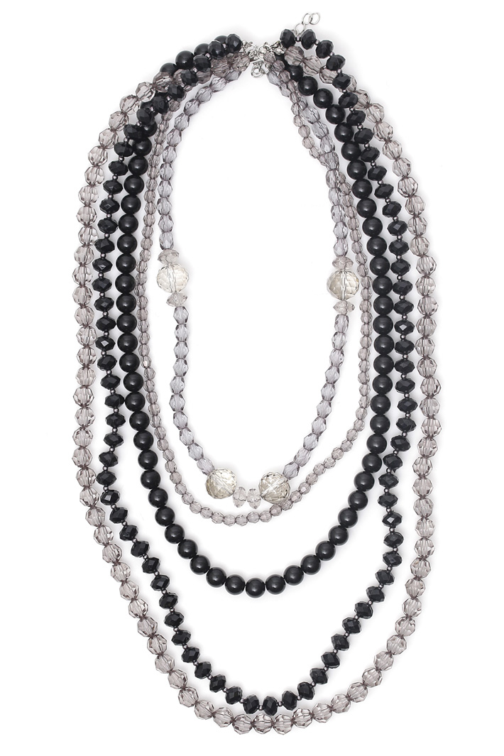 Stone multi-layered necklace Intrend