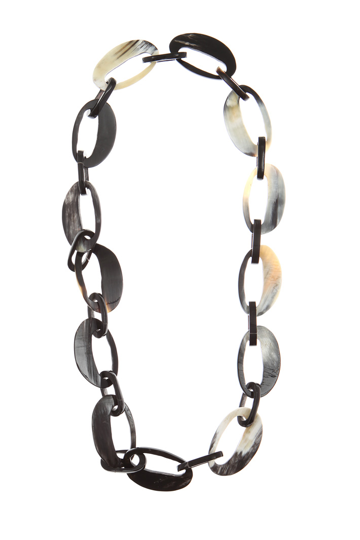 Horn necklace Intrend
