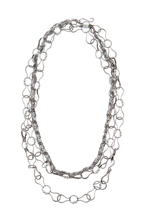 Metal necklace set Intrend