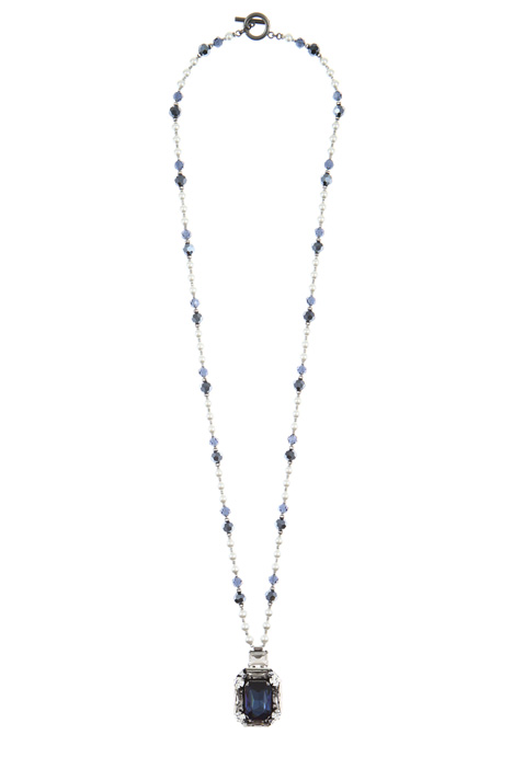 Long bead necklace Intrend
