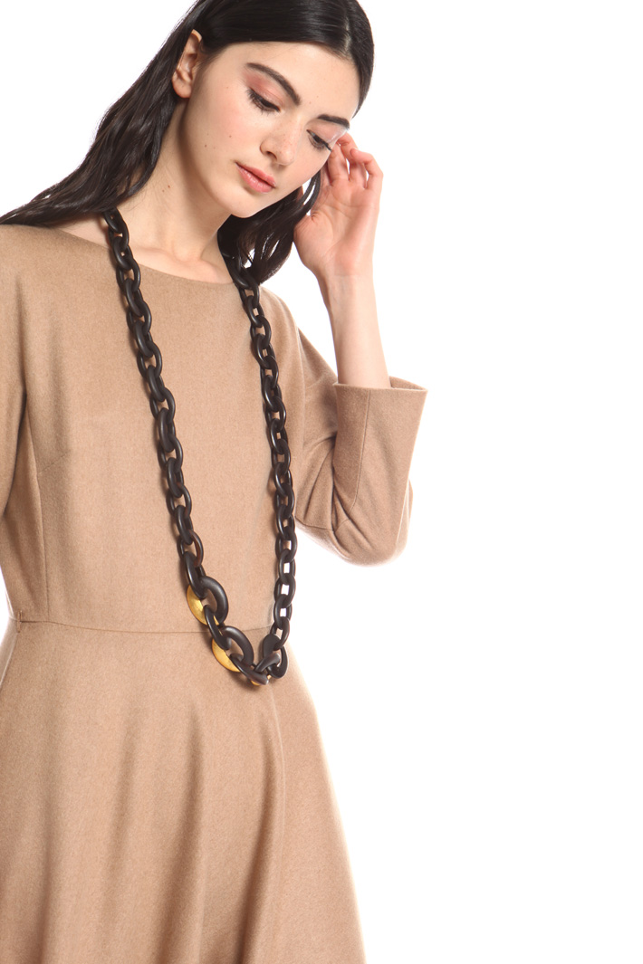 Ebony wood necklace Intrend