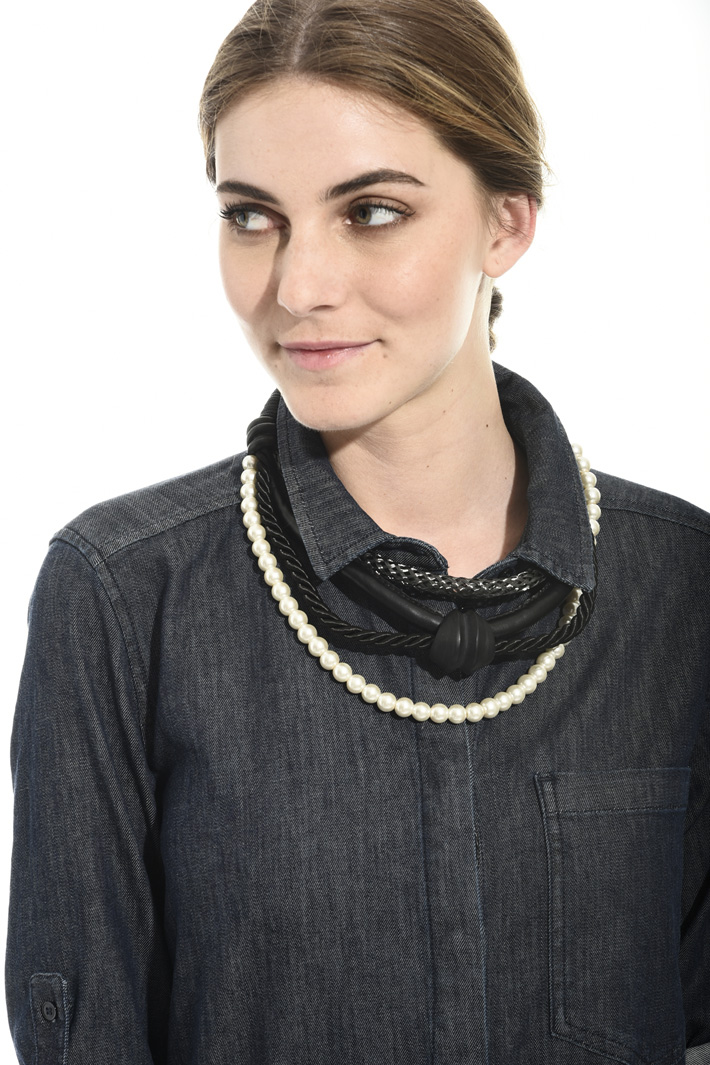 Ebony collar necklace Intrend