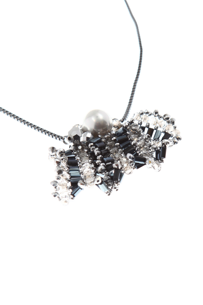 Necklace with glass charm Intrend