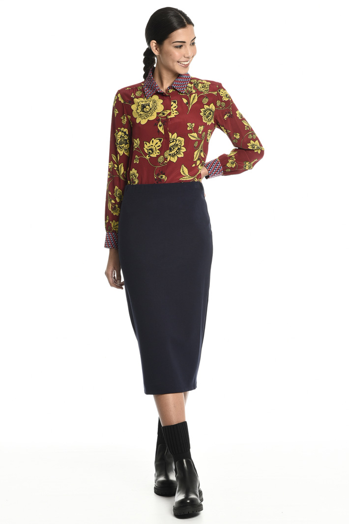 Interlock jersey skirt Intrend