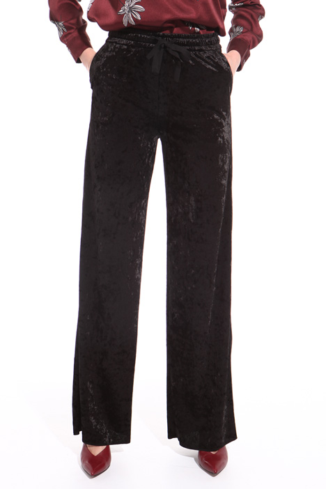 Chenille palazzo trousers Intrend