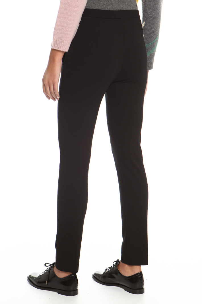 Jersey interlock trousers Intrend