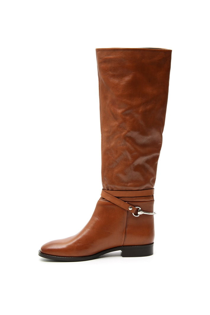 Soft leather boots Intrend