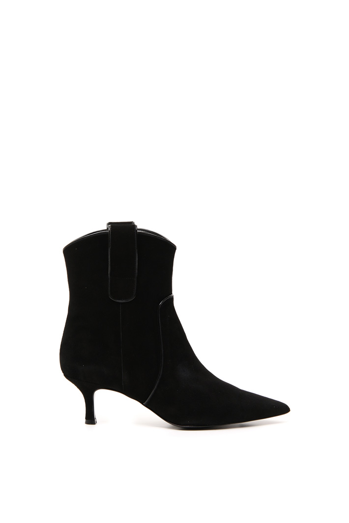 Suede Texas boots Intrend