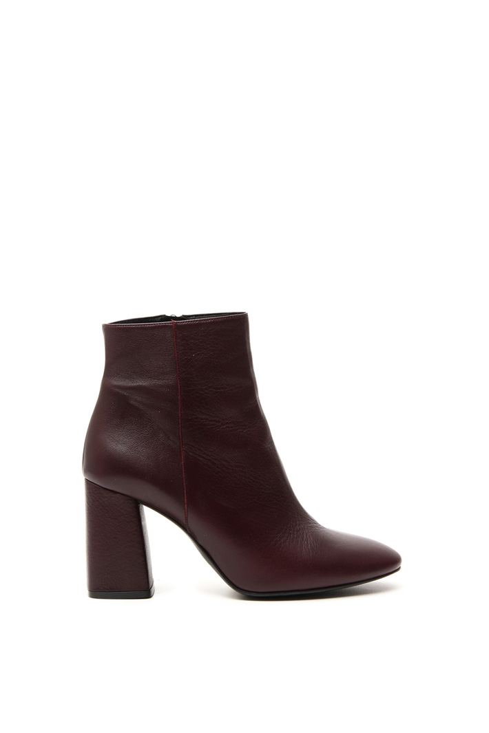 Smooth leather ankle-boots Intrend