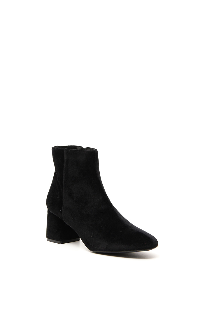 Velvet ankle-boots Intrend