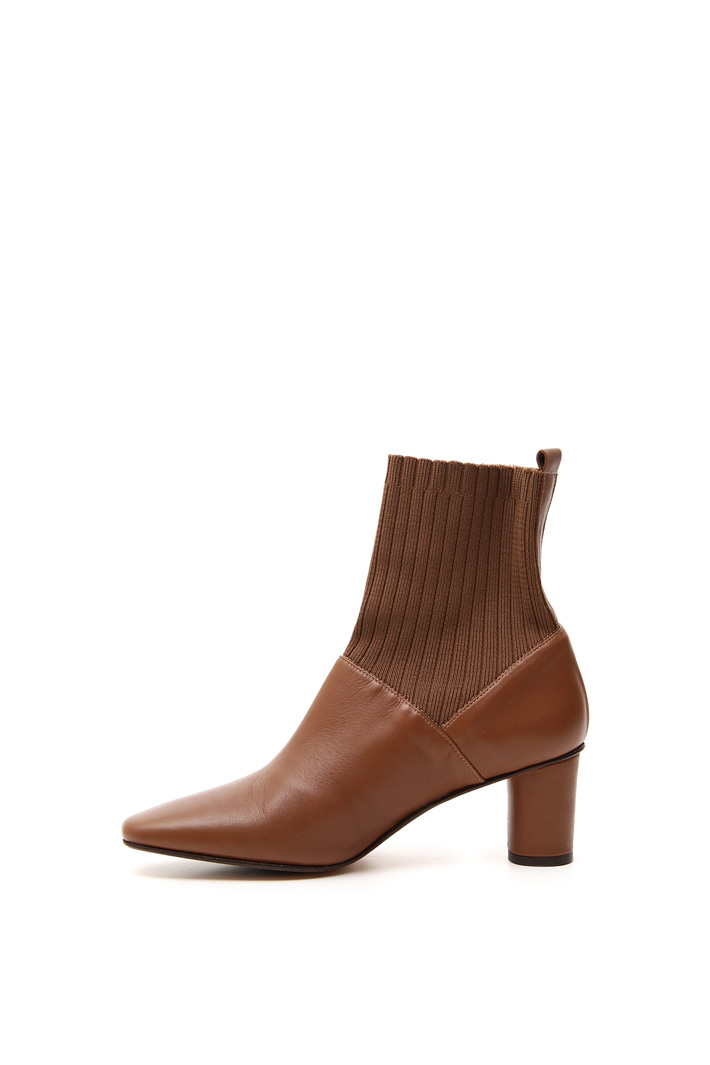 Nappa calf leather ankle-boots Intrend