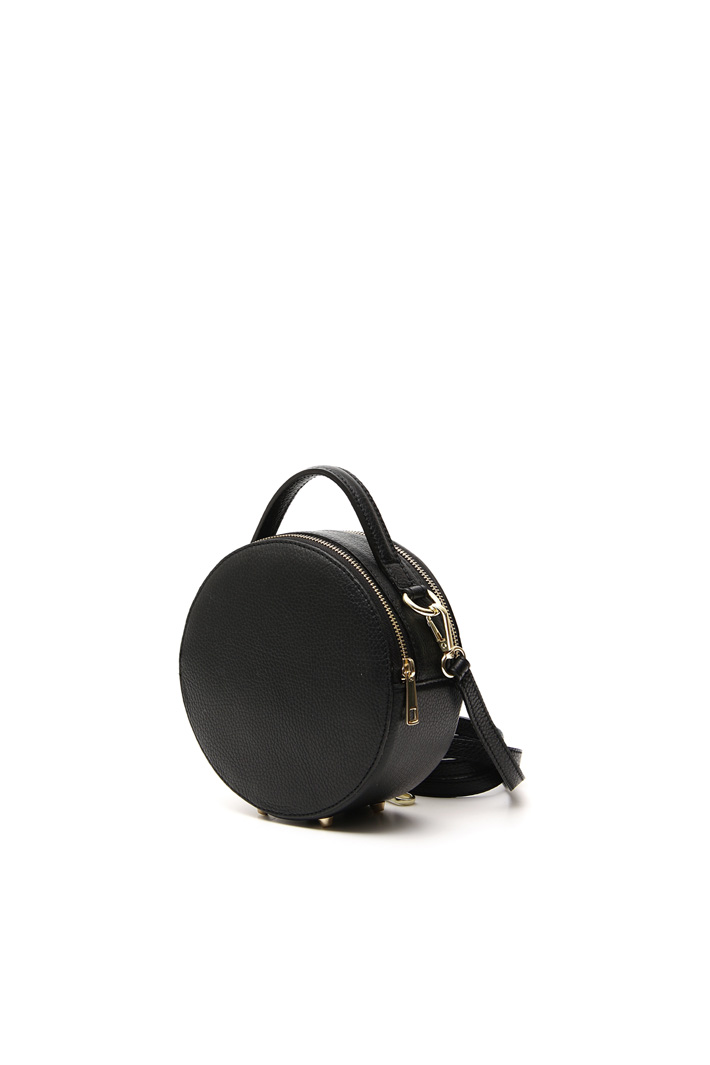 Round leather bag Intrend