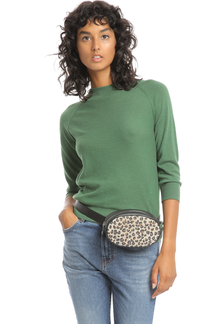 Animal print belt-bag Intrend