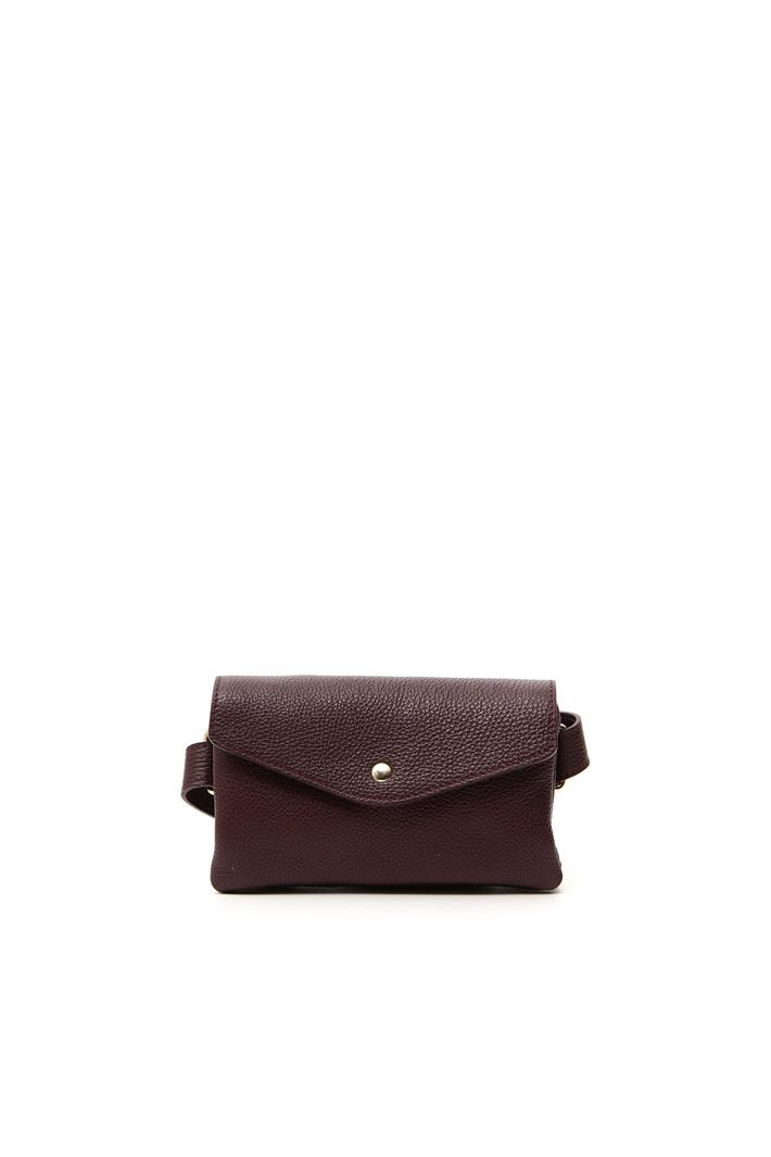 Leather envelope belt bag Intrend