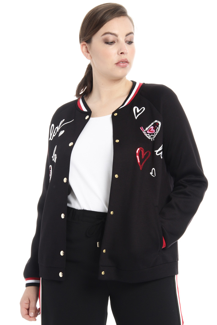 Jersey jacket Intrend