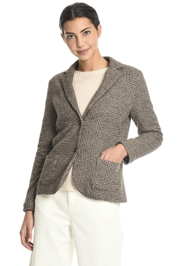 Blazer in wool jersey  Intrend