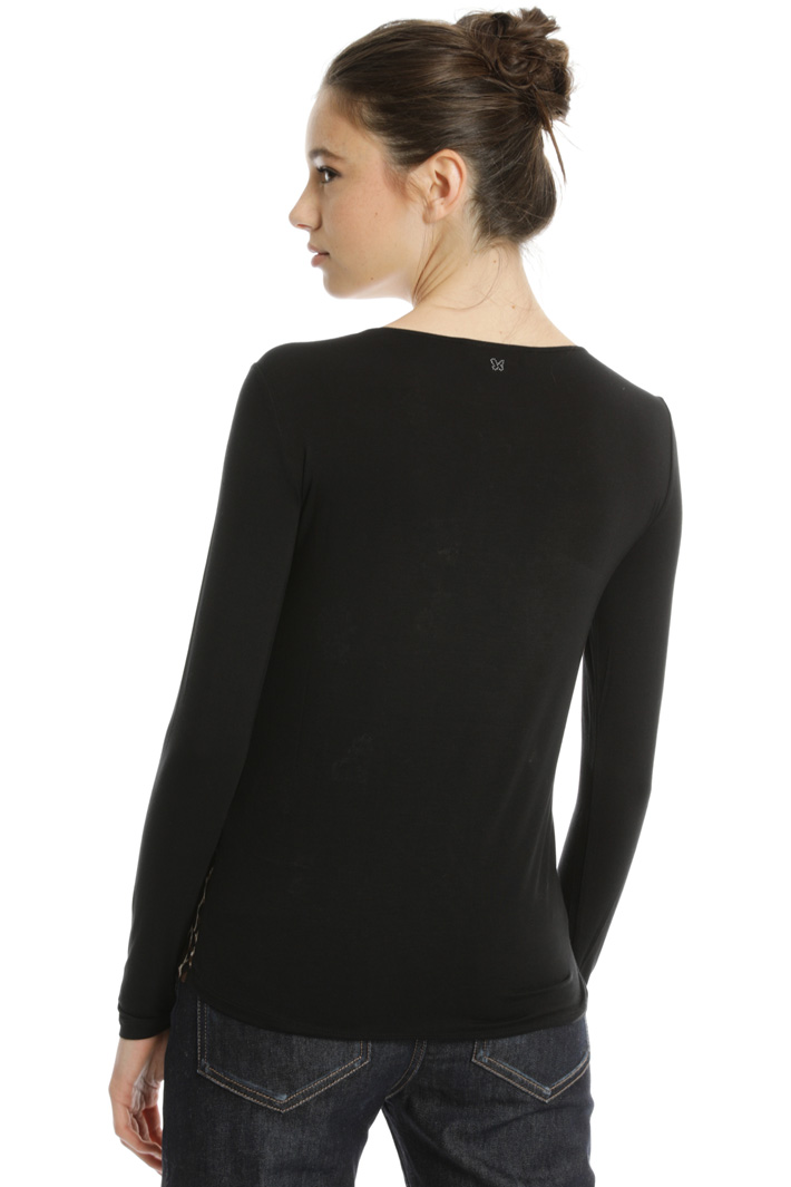 Silk and jersey sweater Intrend