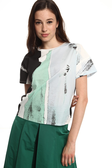 T-shirt in puro cotone Intrend