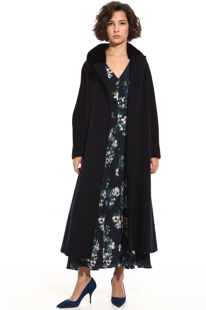 Pure wool long coat Intrend