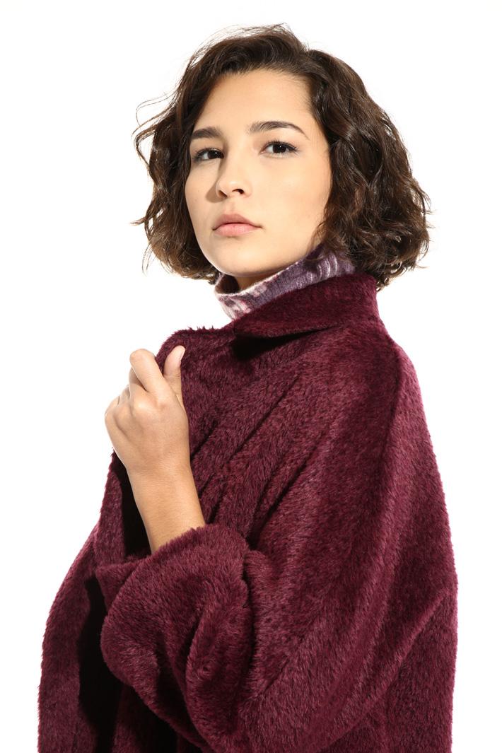 Alpaca and wool coat  Intrend