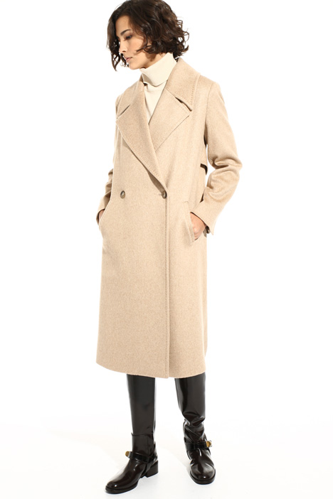 Cashmere drap coat Intrend