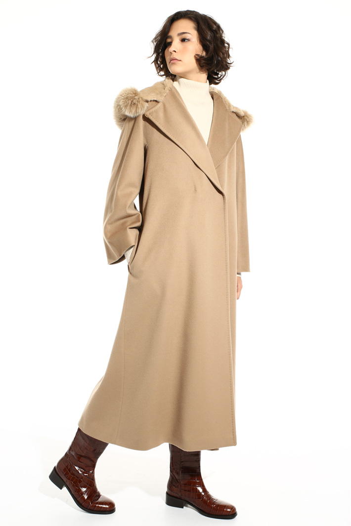 Long hooded coat Intrend