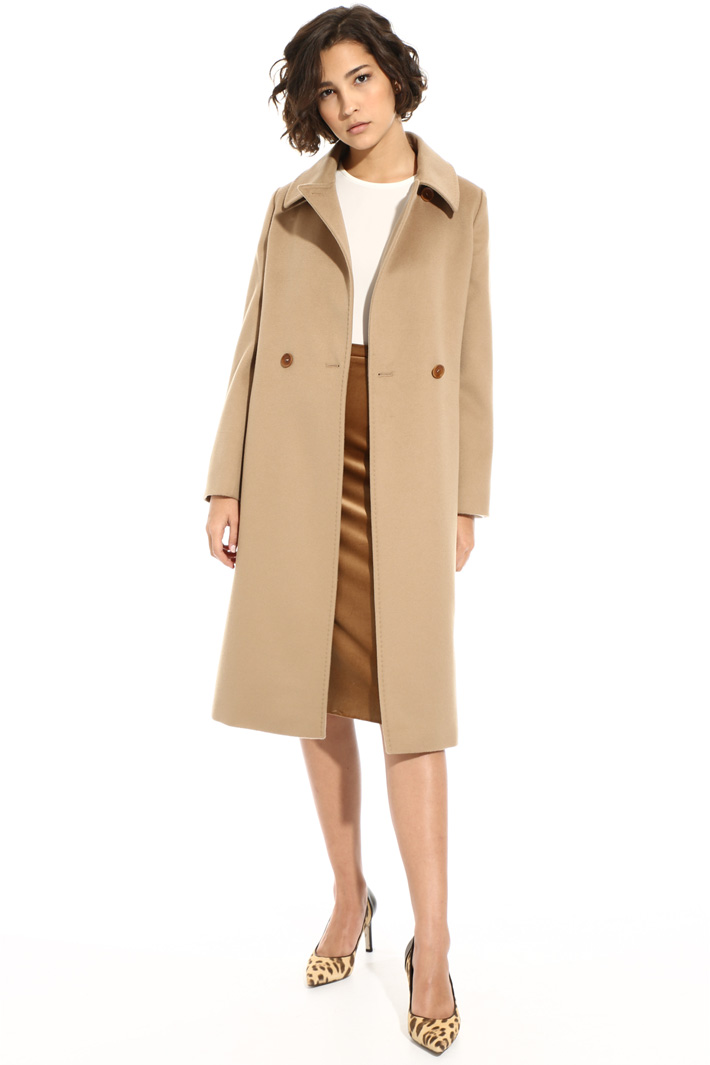 Coat with shirt collar Intrend