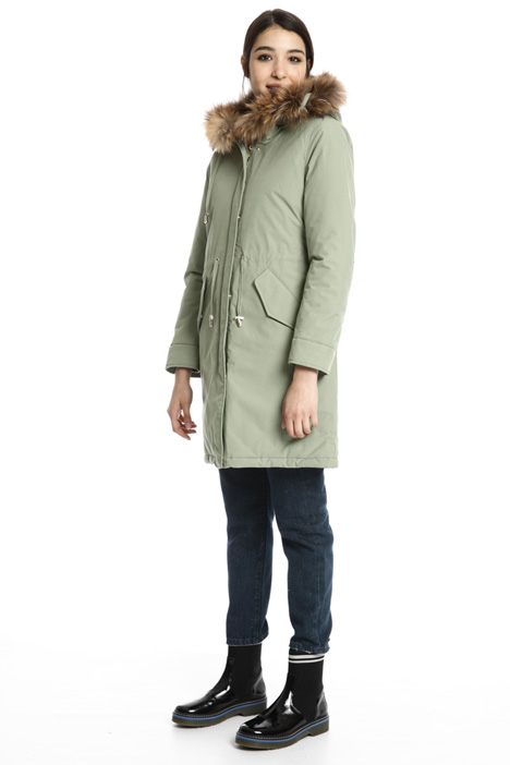 Hooded puffer parka Intrend