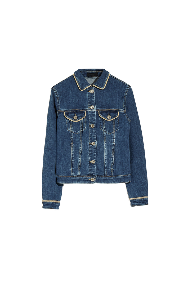 Jacket with lamé finish Intrend