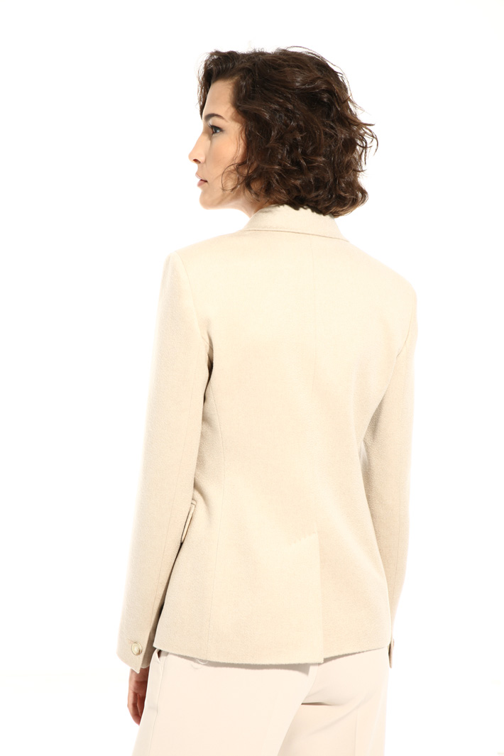 Cashmere and camel jacket  Intrend