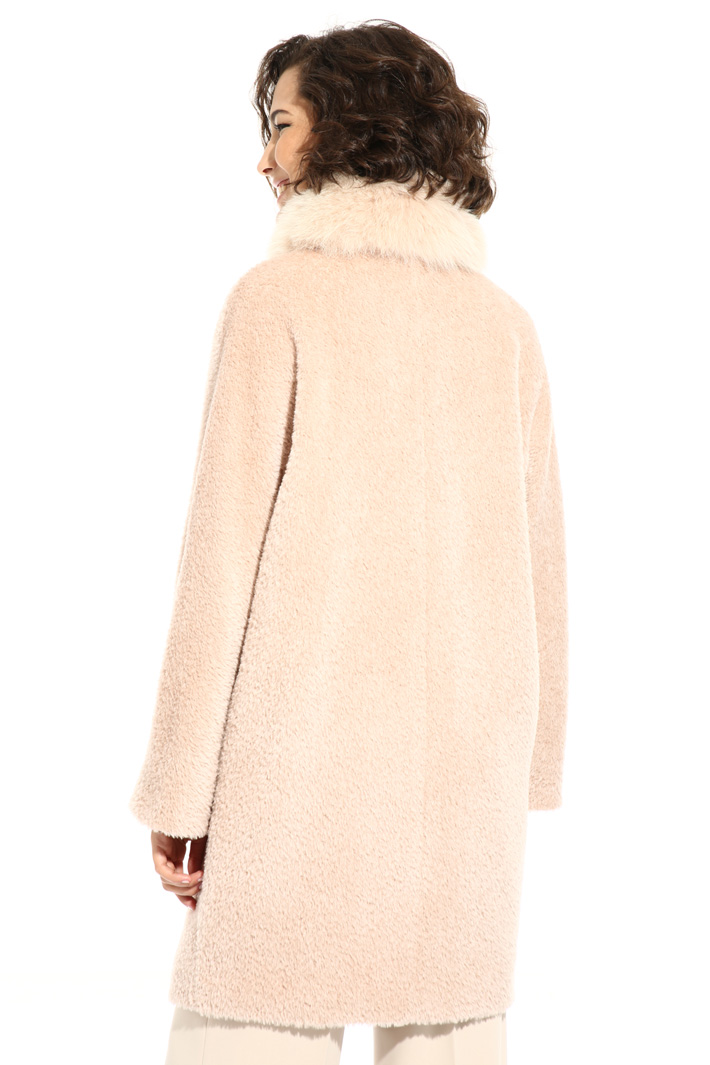 Alpaca coat Intrend