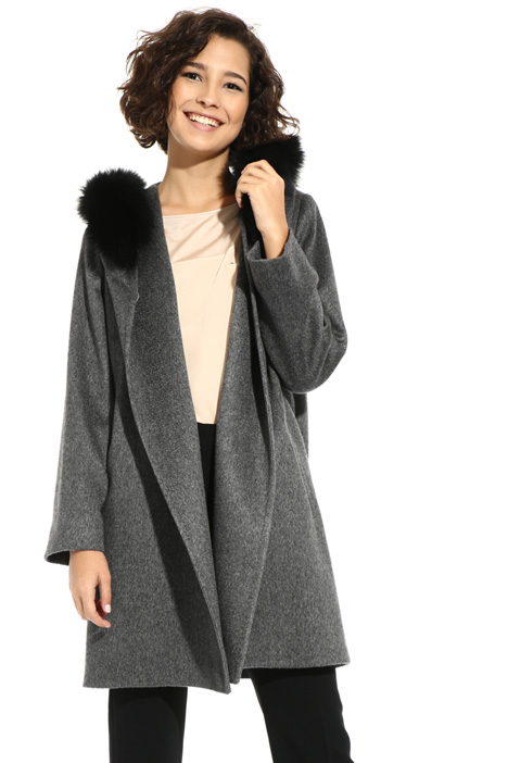 Cappotto in cashmere e cammello Intrend