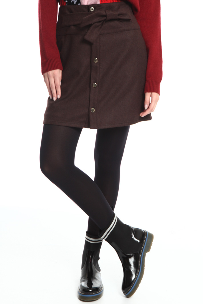 Pure wool miniskirt Intrend