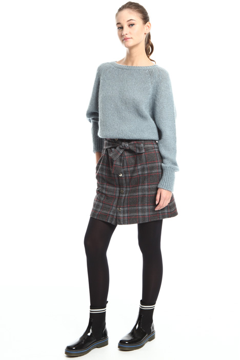 Pure wool miniskirt Intrend