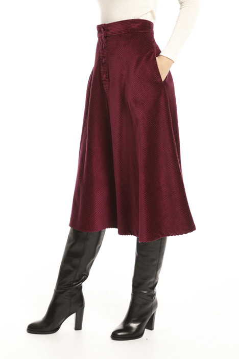 Velvet skirt Intrend