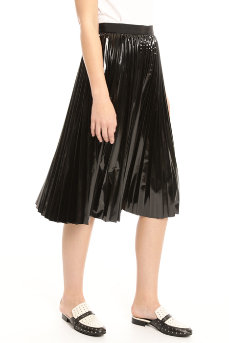 Vinyl-effect skirt Intrend