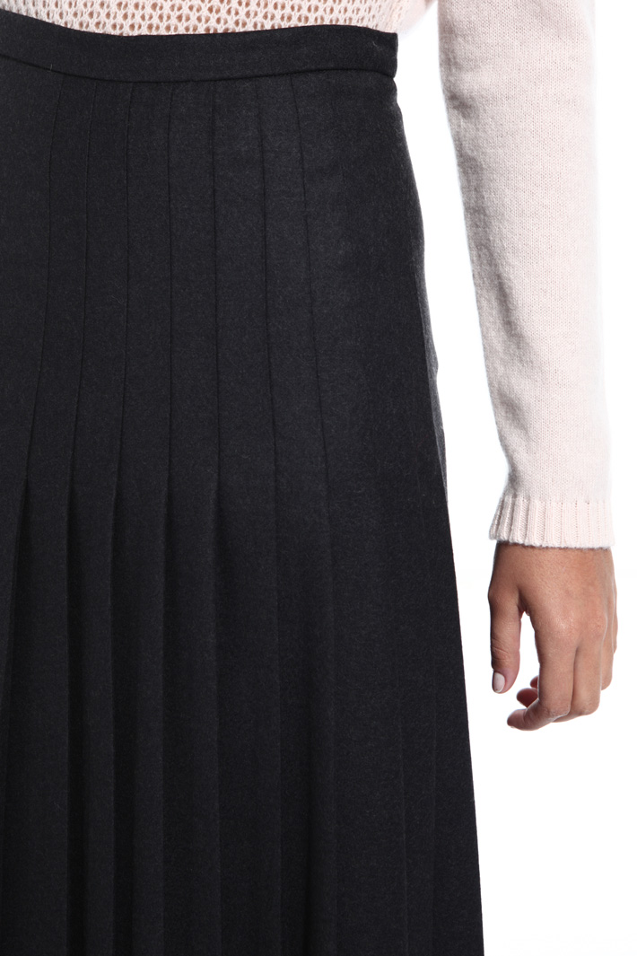 Wool midi skirt Intrend
